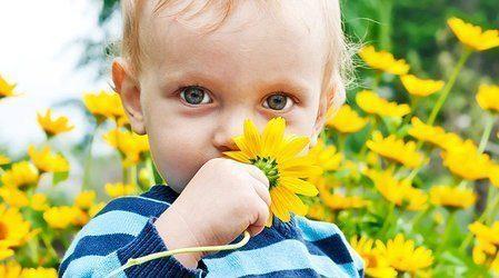 Аллергия уребёнка