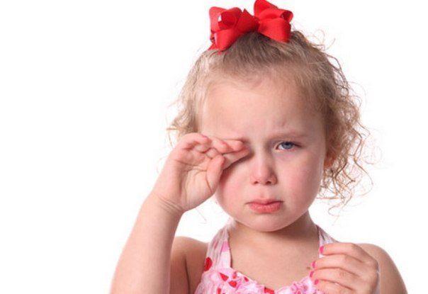 Красный глаз у ребенка: профилактика