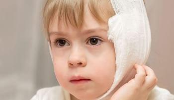 Отит у детей: лечение