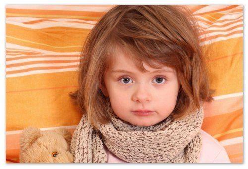 Першение в горле у ребенка: терапия