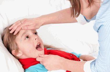 Грибки в горле у ребенка